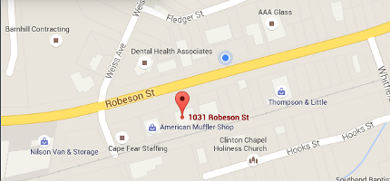 1031 Robeson St., Fayetteville, NC 28305